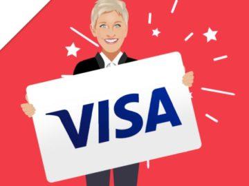 Ellentube Win a $300 Visa Gift Card Giveaway