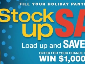 Stock Up Sweepstakes Limited States