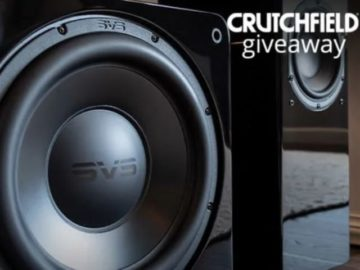 Crutchfield SVS Great Gear Giveaway