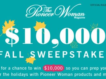 Pioneer Woman Magazine $10000 Dream Big Sweepstakes