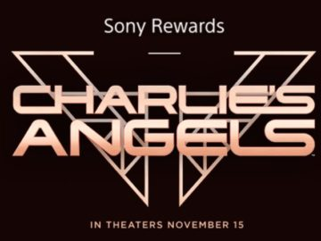 Sony Rewards Charlies Angels Giveaway