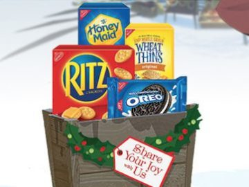 Nabisco Share Your Joy With Us Sweeps and Instant Win Game