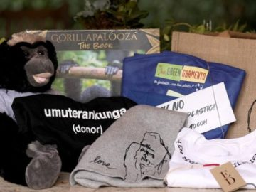Ellen Win a Gift Bag from Gorillapalooza