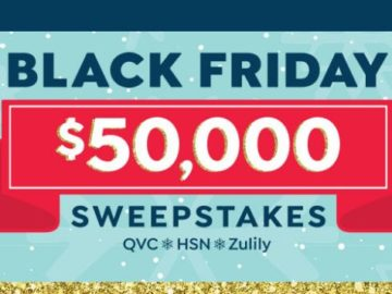 QVC Black Friday Sweepstakes & Instant Win Game