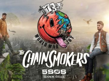 Tillys Chain smokers VIP Experience Sweepstakes