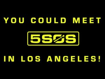 Music Choice Meet 5 Seconds of Summer Sweepstakes