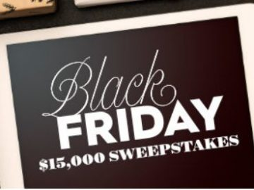 Better Homes & Gardens Black Friday $15000 Sweepstakes