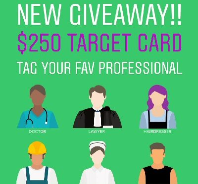 $250 TARGET GIFT CARD GIVEAWAY