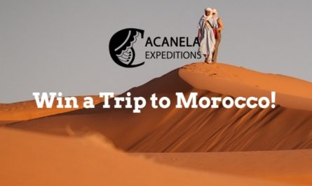 Acanela To Morocco Sweepstakes