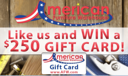 American Furniture Warehouse Giveaway