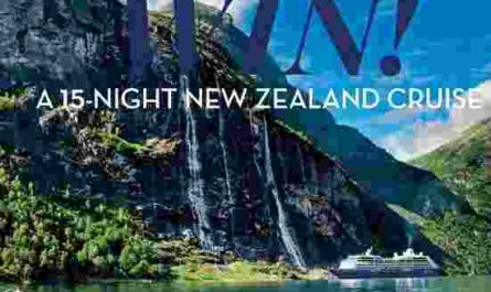 Better Homes and Gardens New Zealand Cruise Competition