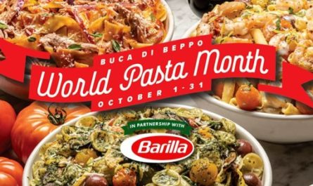 Buca Di Beppo World Pasta Month Sweepstakes
