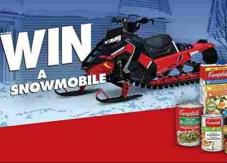 Campbells Polaris Snowmobile Contest