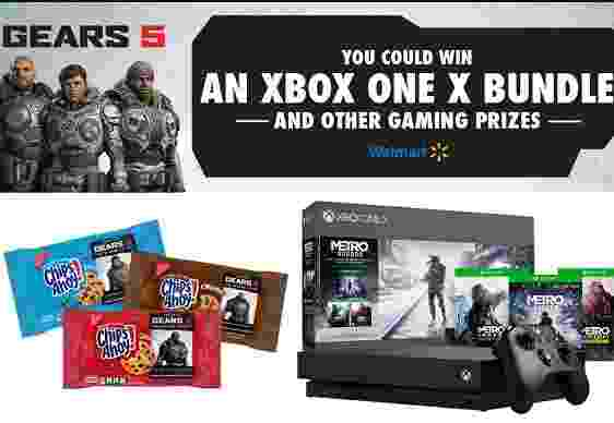Walmart Chips Ahoy Gears of War Sweepstakes