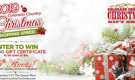 Colorado Country Christmas Shopping Spree Sweepstakes