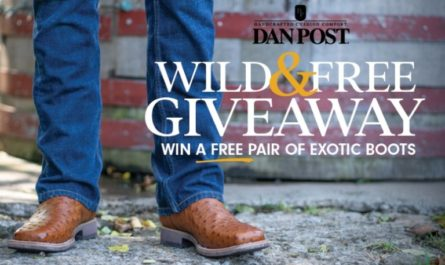 Dan Post Exotic Boot Fall Giveaway