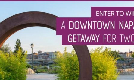 Downtown Napa Trip For 2 Giveaway