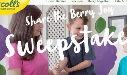 Driscolls Share The Berry Joy Sweepstakes