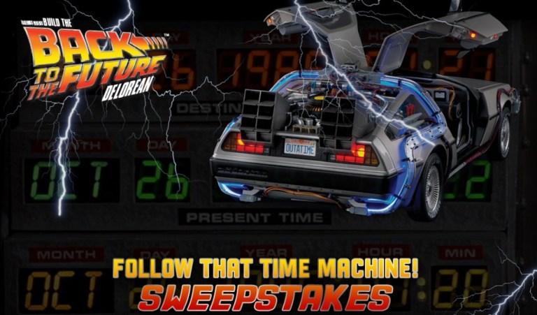 Follow That Time Machine Sweepstakes