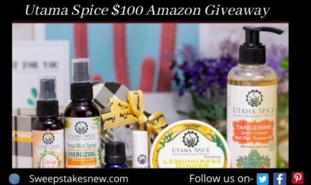 Utama Spice $100 Amazon Giveaway