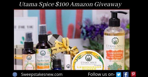 Utama Spice $100 Amazon Giveaway