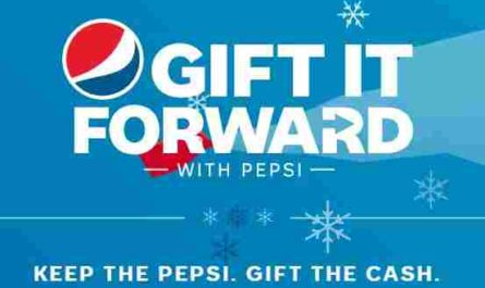 Gift It Forward With Pepsi Holiday Sweepstakes