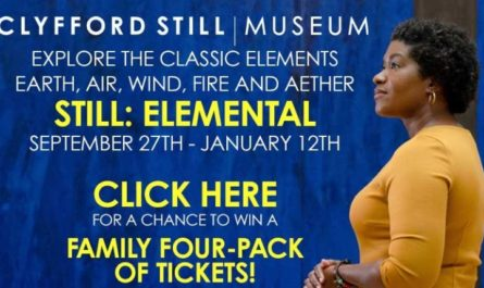 KDVR-TV Clyfford Still Museum Still Elemental Sweepstakes