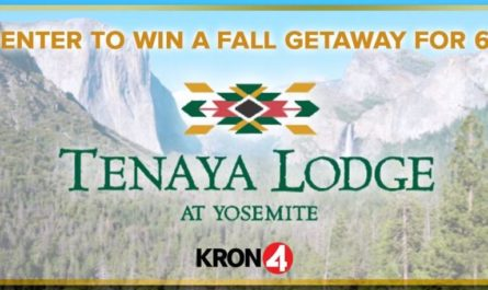 KRON4 Tenaya Lodge Fall Getaway Sweepstakes