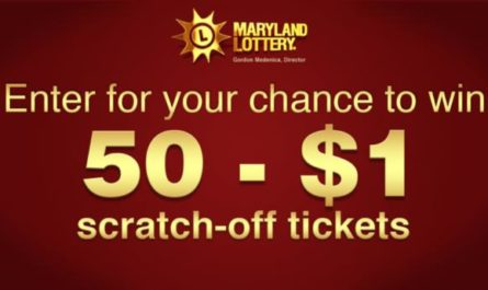 Maryland Lottery Scratch Off Tickets Contest
