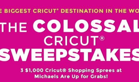 Michaels Winter Colossal Cricut Sweepstakes