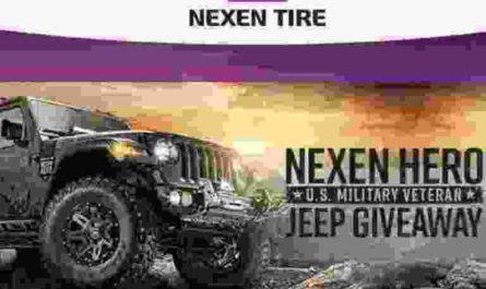 Nexen Tire Nexen Hero Jeep Wrangler Giveaway