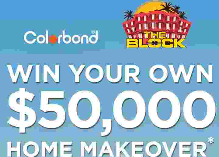 Nine The Block Colorbond Competition