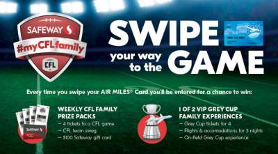 Safeway My CFL Family ContestSafeway My CFL Family Contest
