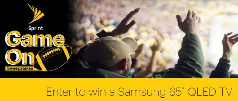 Sprint Game On Sweepstakes