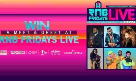 Channel Seven Sunrise RNB Fridays Live Competition