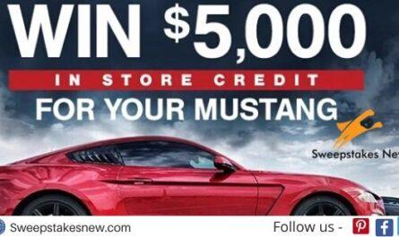American Muscle $5000 Mustang Sweepstakes
