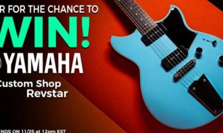 The Music Zoo Yamaha Guitar Giveaway