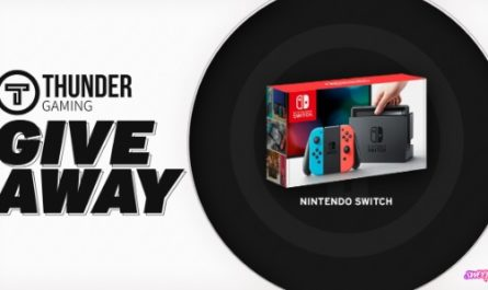 Thunder Gaming Nintendo Switch Giveaway