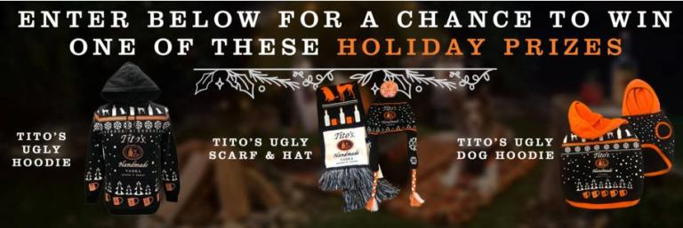 Titos Be A Giver Sweepstakes
