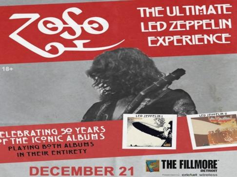 WCSX Ultimate Led Zeppelin Experience Contest