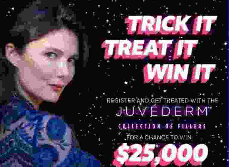 JUVEDERM Trick or Treat It Sweepstakes