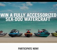 Sea-Doo Win a BRP Vehicle Sweepstakes