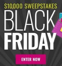 Shape Magazine $10000 Black Friday Sweepstakes