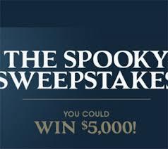 Valpak Spooky Sweepstakes