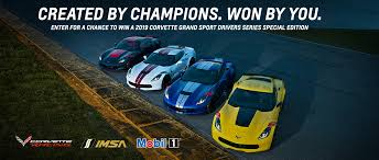 General Motors Race to Win Corvette Sweepstakes