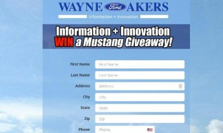 Wayne Akers Ford Information & Innovation Giveaway