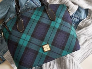 Dooney & Bourke November Holiday Plaid Sweepstakes