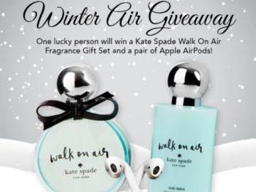FragranceNet.com November Winter Air Giveaway