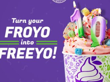 Win Free Froyo For a Year Sweepstakes