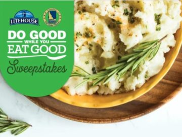 Litehouse Foods Do Good While You Eat Good Sweepstakes